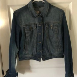 Mission denim jacket women's size large